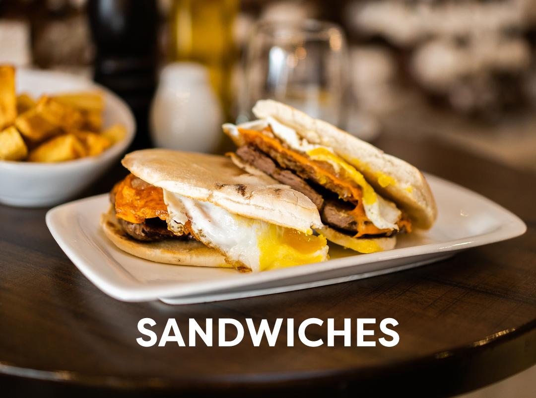 Sandwiches (Frios y Calientes)