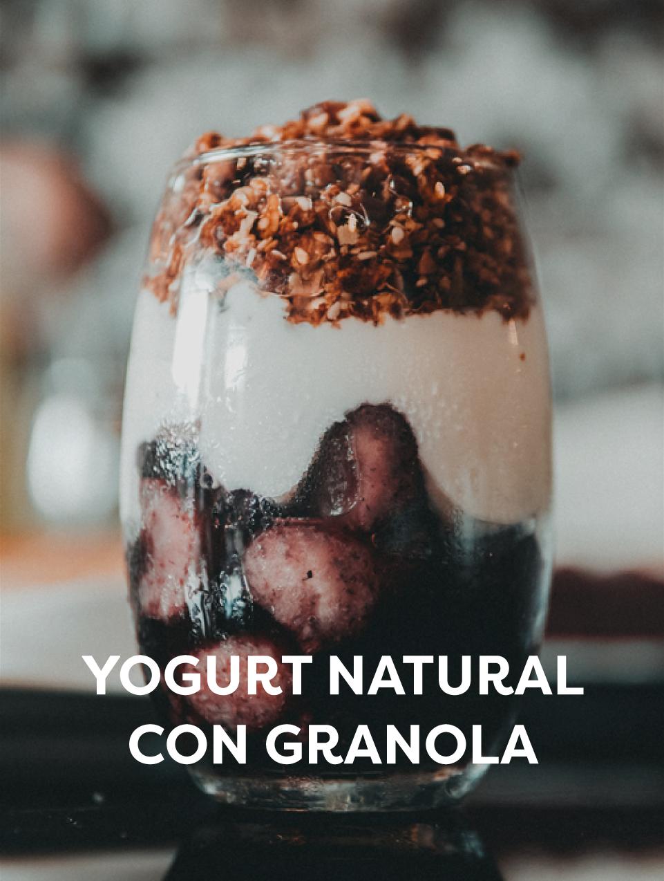 Yogurt con Granola